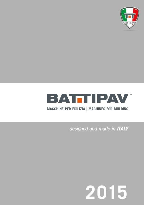 Battipav catalogue