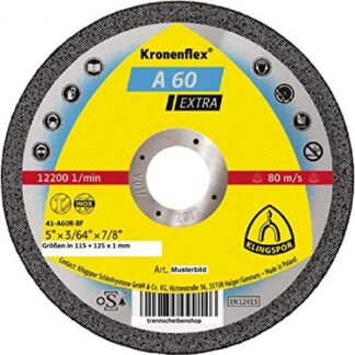 KLINGSPOR A 60 EXTRA INOX/METALL