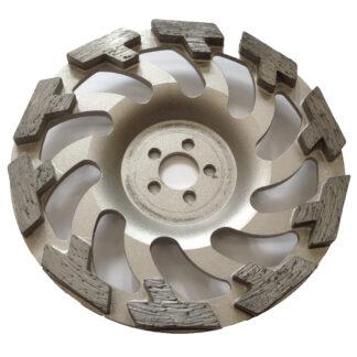 BUMERANG TROMB - tüüpi teemant lihvkettad värskele betoonile